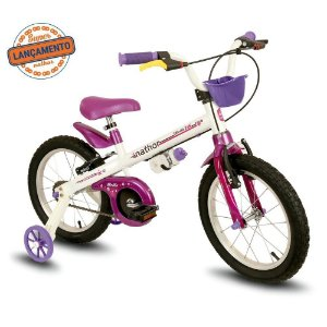 Bicicleta 16 Nathor Aco Fem BELLA