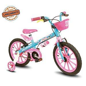 Bicicleta 16 Nathor Aco Fem Candy