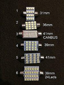 Lampada LED Torpedo (ESCOLHA O MODELO)