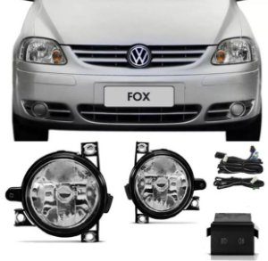 Kit Farol Auxiliar Fox/Crossfox 03/09