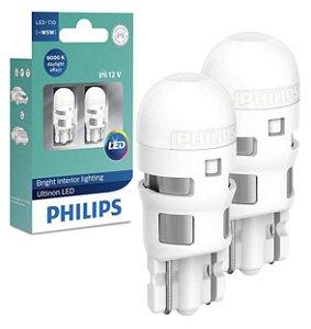Par Lâmpada Pingo T10 Led Philips Ultinon