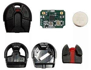 Controle Cabeça Chave Fiat Alarme Positron