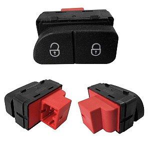 Botão De Trava Destrava Portas Gol G5 G6 2008/2015