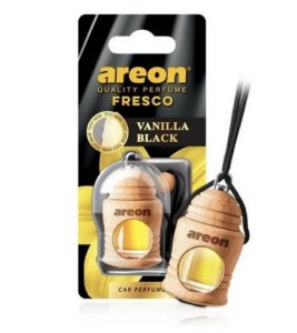 AROMATIZANTE AUTOMOTIVO AREON FRESCO VANILLA BLACK