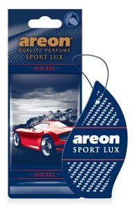 AROMATIZANTE AUTOMOTIVO AREON SPORT LUX NICKEL