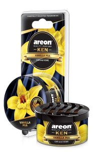 AROMATIZANTE AUTOMOTIVO AREON KEN VANILLA BLACK