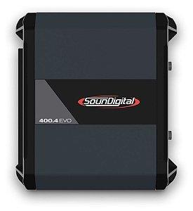 Modulo Amplificador Soundigital Sd400.4 Evo