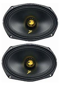 Par Alto Falante Zetta Audio 6x9 Polegadas 260w MGT-69 520w RMS PAR