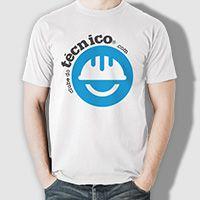 Camiseta Clube do Técnico - Logo capacete