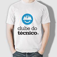 Camiseta Clube do Técnico - Logo oficial