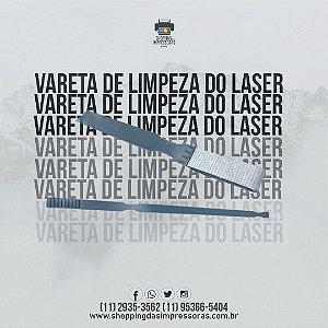 VARETA DE LIMPEZA DO LASER