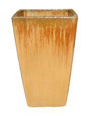 Vaso Vietnamita Quadrado Bege