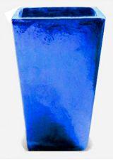 Vaso Vietnamita Quadrado Azul