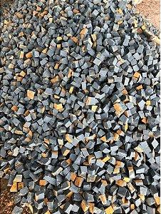 Mosaico Preto - (0,5m²)