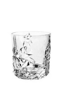 COPO WHISKY CRISTAL NACHTMANN SCULPTURE -  CX 2 PCS