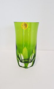 COPO LONG DRINK CRISTAL STRAUSS COR VERDE CLARO CX 6 PCS