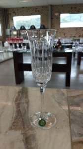 TAÇA CHAMPAGNE CRISTAL IMPERATTORE BY STRAUSS - CX 6 PCS