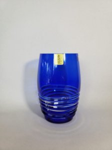 COPO LONG DRINK CRISTAL STRAUSS COR AZUL CX 1 PC