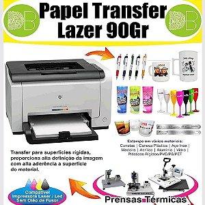 Papel Transfer Laser 90gr para Produtos Acrílicos