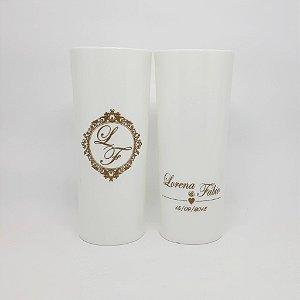 100 Copos para Casamento Long Drink Personalizado