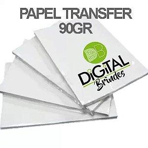 Kit C/10 Folhas Amostra Papel Transfer Laser 90Gr