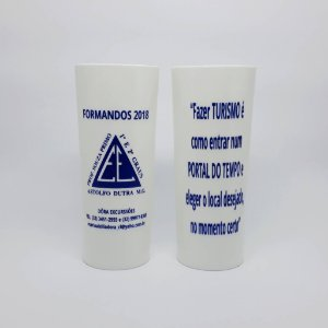 50 Copos de Formaturas Long Drink 350ML Personalizados