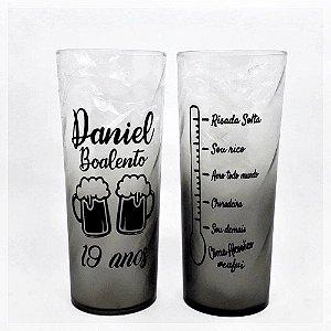 Copos Long Drink 350mL Com Efeito Degradê