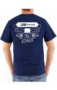 Camiseta Hard Line Surface Custom