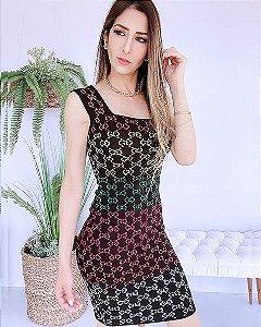 Vestido Tricot Gucci (Modal) - BLJ