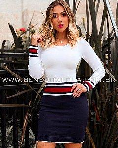 Vestido Tricot Modal Veneza Inverno 2019 -MD