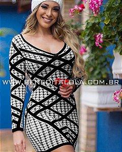 Vestido Tricot Modal Lolla Inverno 2019 -MD