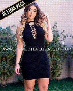 Vestido Tricot Modal Chique Verão 2020 -MD