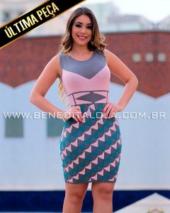 Vestido Tricot Modal Candy Verão 2020 -MD