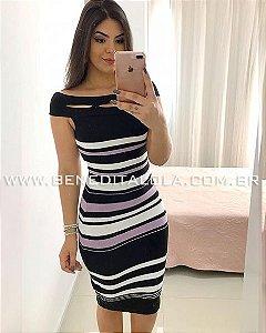 Vestido Tricot Modal Midi Luciana Verão 2020 -MD