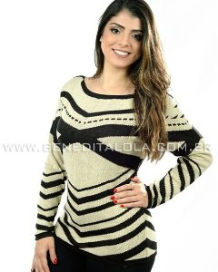 Blusa Tricot Street Style Inverno 2020 - SK 357