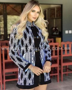 Casaco Tricot Feminino Mousse Thatá Inverno 2019 -BD