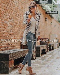 Sobretudo Feminino Tricot Lavínia Inverno 2019 -RM