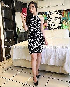 Vestido Tricot Modal LF Lucy Verão 2020- MD