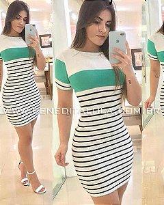 Vestido Tricot Modal Amore Verão 2020- MD