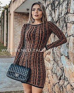 Vestido Tricot Modal Luma Inverno 2019- MD