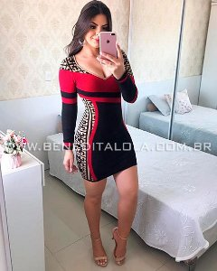 Vestido Tricot Modal Lisboa Inverno 2019- MD