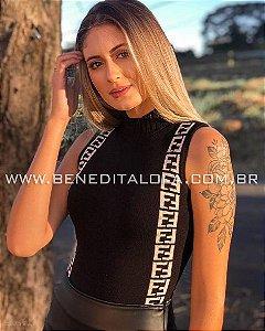 Body Tricot Fendi Verão 2019- BD
