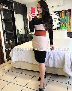 Vestido Tricot Modal Queen Inverno 2019- MD