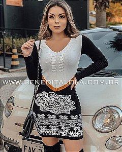 Vestido tricot Modal Mary Inverno 2019- MD