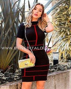 Vestido Tricot Modal Marcela Verão 2020 - MD