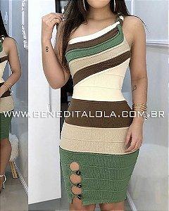 Vestido Tricot Modal Glamour Verão 2019- MD