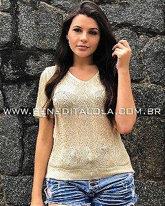 Camiseta Tricot T-shirt Melissa Verão 2020- SK