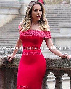 Vestido Tricot Modal Midi Peny Verão 2020- MD