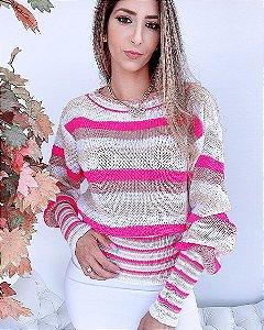 Blusa Tricot Color - SK 1161  ✿