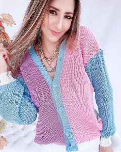 Casaco Tricot Marshmallow - DC
